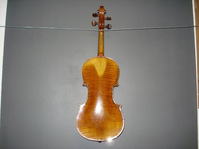 A Violin of the French School circa 1900 (4)