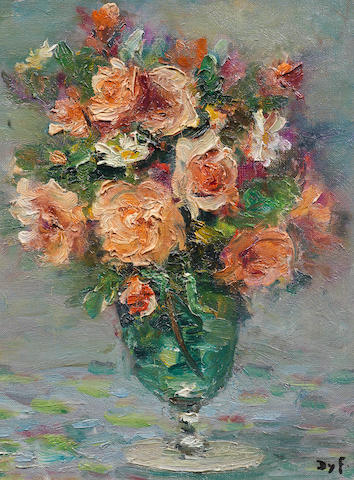 Marcel Dyf (French, 1899-1985) Roses