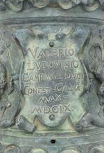 A Fine Monumental Bronze Cannon