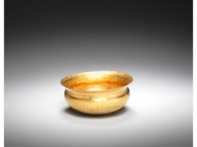 An Eastern Mediterranean gold bowl