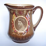 Doulton Burslem 'Coronation Queen Elizabeth II' a Loving Cup, 1953