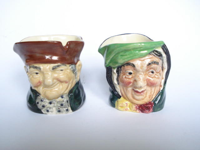 Doulton Burslem Two Toothpick Holders, 1940