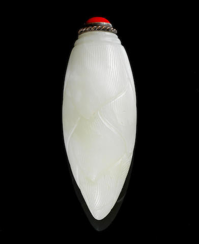 A jade snuff bottle 18th or 19th Century