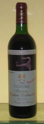 Chateau Mouton Rothschild 1985 (2)<BR />Chateau Mouton Rothschild 1990 (1)
