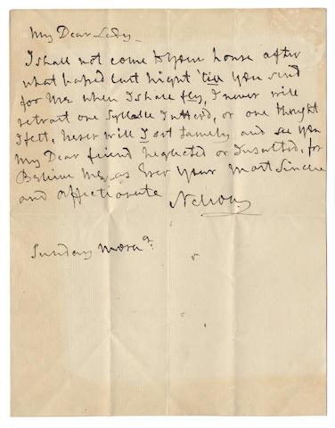 Nelson Letter