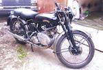 100 miles since restoration,1949 Vincent 498cc Comet Frame no. RC/1/5261 Engine no. F5AB/2A/3361