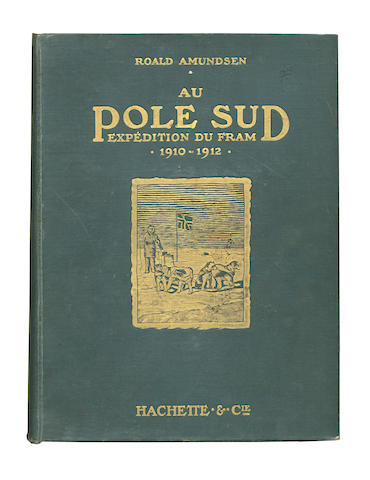 "AMUNDSEN (ROALD) Au pole sud expedition du ""Fram"" 1910-1912"