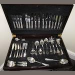 A silver plated canteen of cutlery by Joseph Elliot & Sons Ltd, Sheffield  (92)