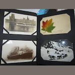 Postcards Canadian interest:a collection of approx 72 cards