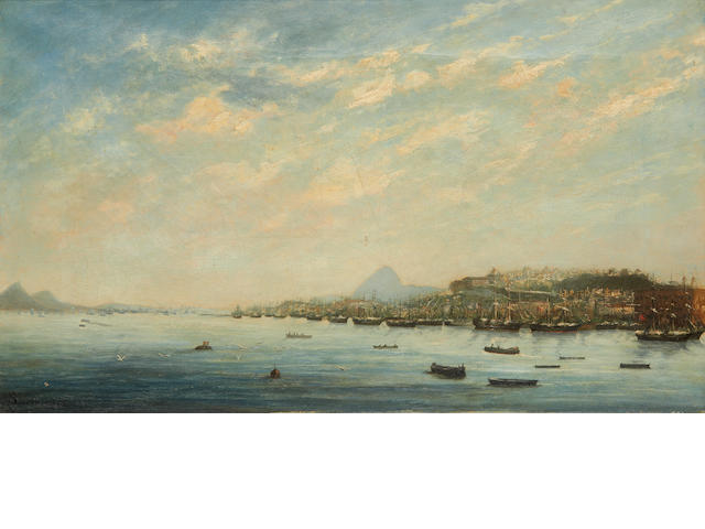 Brazilian School, 19th Century Panorama of Rio