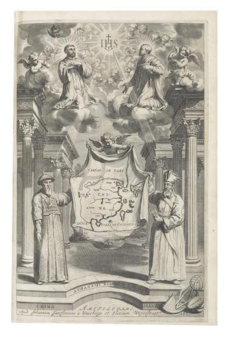 KIRCHNER (ATHANASIUS) Toonneel van China, 1668