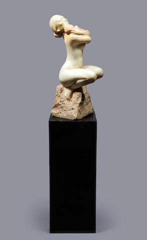 Enzo Plazzotta (Italian, 1921-1981) Melanie, 1968 76cm (30in)(excluding plinth)