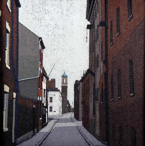 Stuart Walton (British, born Leeds 1934) 'Posterngate, Hull'