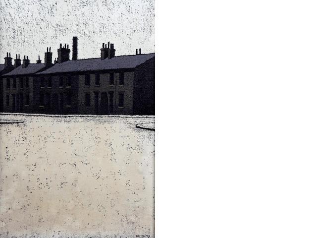 Stuart Walton (British, born Leeds 1934) 'View from Boynton Street, Bradford'