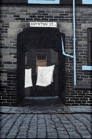 Stuart Walton (British, born Leeds 1934) 'Boynton Street, Bradford'