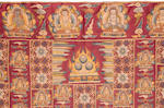 A 'ten thousand Buddha' wrap (kesa)