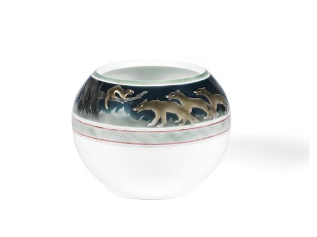 Large porcelain vase, Imperial Porcelain Factory, Nicholas II period