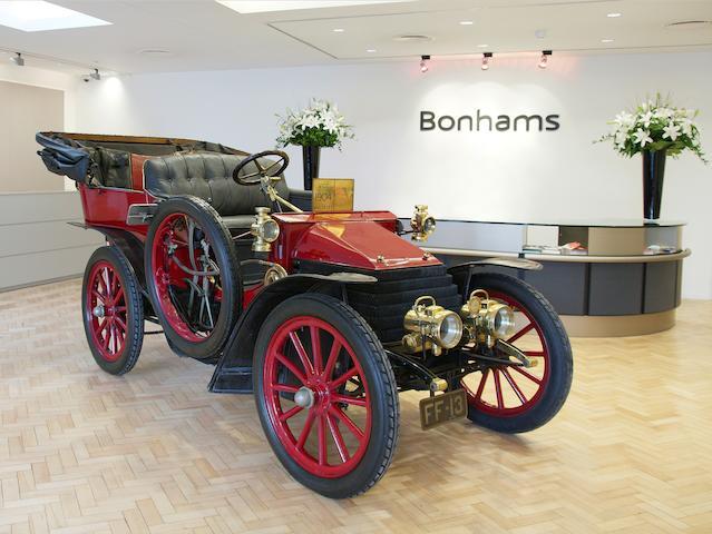 1904 Wolseley 12HP Tonneau