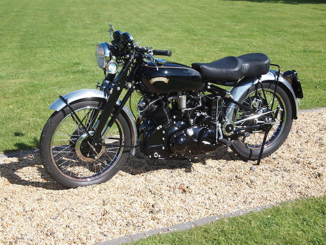 c.1949 Vincent 998cc Series B Black Shadow Frame no. BC4425B Engine no. F10/AB/-1B2525