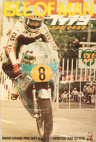 Two 1979 Isle of Man TT race posters,