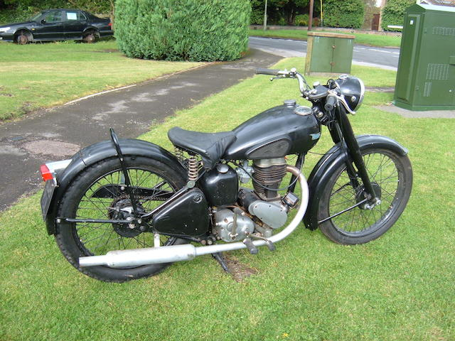 1946 BSA C11 Frame no. XC10T3622