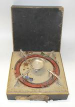 A 'Jeu de Course' carousel-type motor racing game, by M.D. & Cie, French, circa 1903,
