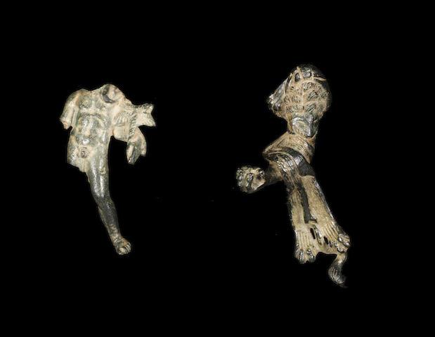 Two Roman bronze figures 2