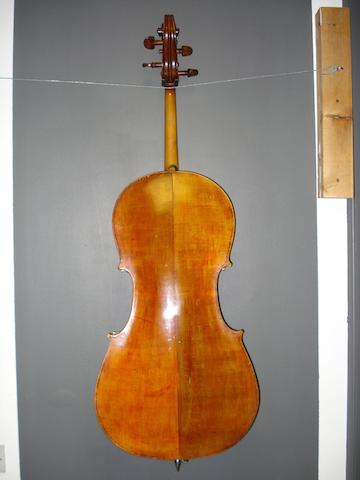 A Cello of the English school circa 1850 (2)