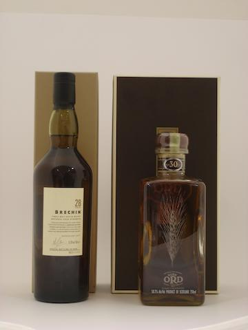 Brechin-28 year old-1977<BR /> Glen Ord-30 year old