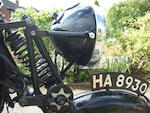 1933 Velocette 250cc MOV Frame no. MB8954 Engine no. M56