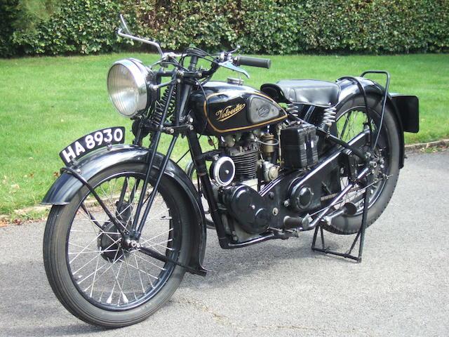 1933 Velocette 249cc MOV Frame no. MB8954 Engine no. M56