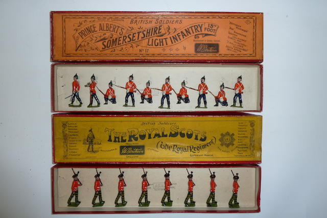 Britains set 17, Somerset Light Infantry 18