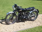 c.1949 Vincent 998cc Series B Black Shadow Frame no. BC4425B Engine no. F10AB/1B/2525