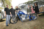 Sold in aid of the Richard Burns Foundation,2009 Ironside 100ci Chopper,2009 Ironside 100ci Chopper