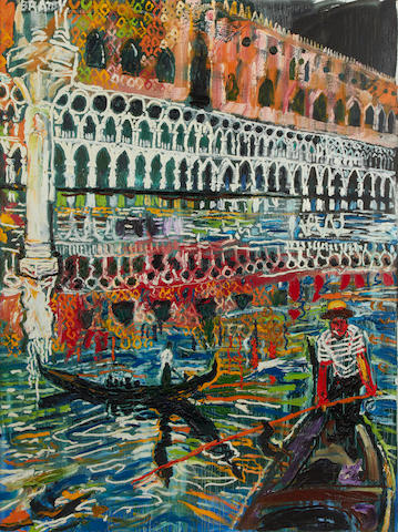 John Bratby R.A. (British, 1928-1992) The Doges Palace