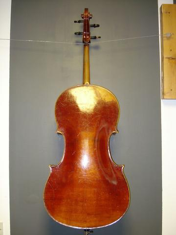 A Mittenwald Cello, circa 1900 (2)