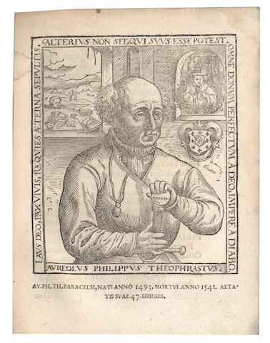 PARACELSUS. Medici libelli... vorhin niemals in Truck ausgangen, Cologne, 1567