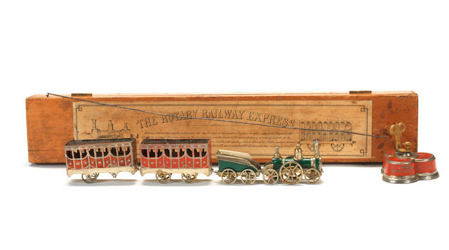 EXTREMELY RARE BRITAINS EARLY TOY 'The Rotary Railway Express' 6