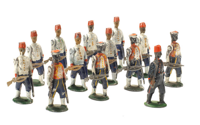 RARE Reka Native Colonial Infantry 13