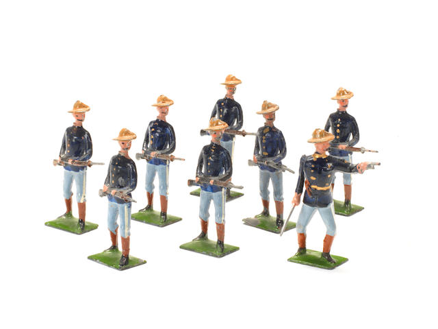Britains set 91, U.S.Infantry 8