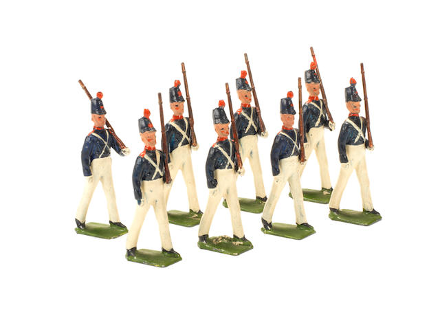 Britains set 221, Uruguay Military School Cadets 8
