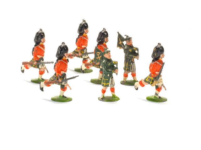 RARE Britains set 77, Gordon Highlanders 7