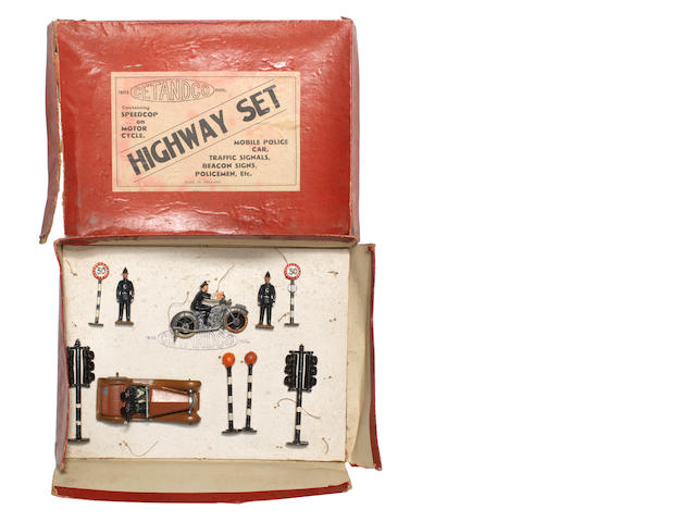 RARE CETandCo Highway Set, contents by various makers 12