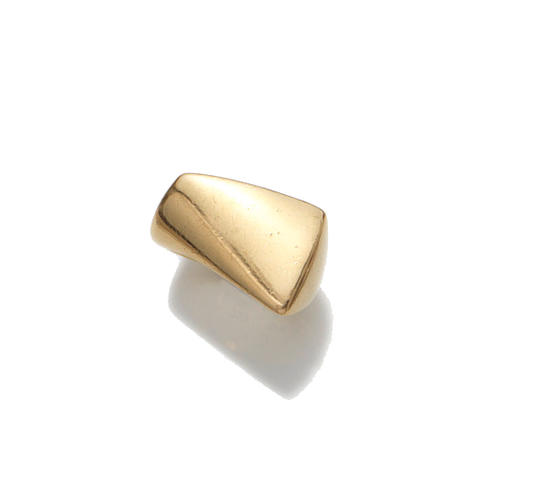 Georg Jensen  an 18 Carat Gold Ring