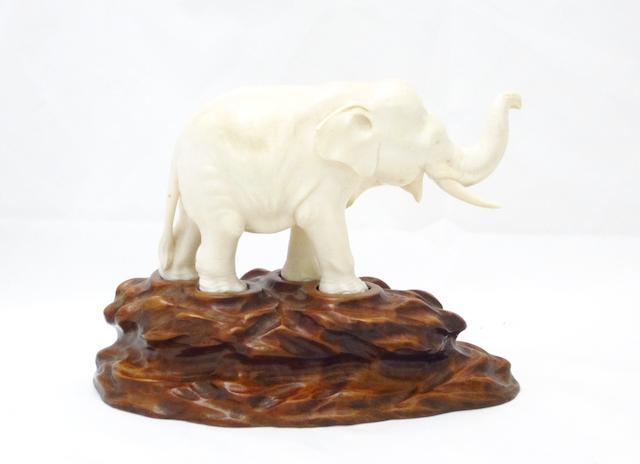 An ivory elephant Meiji