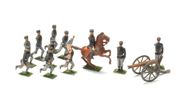RARE Britains set 149, American Soldiers