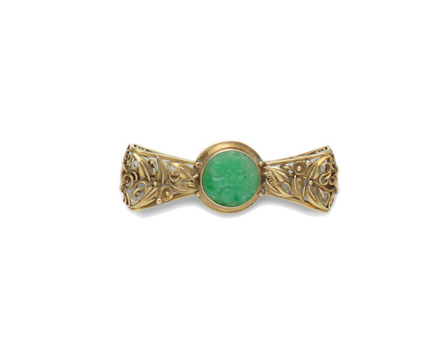 European an Arts and Crafts Brooch
