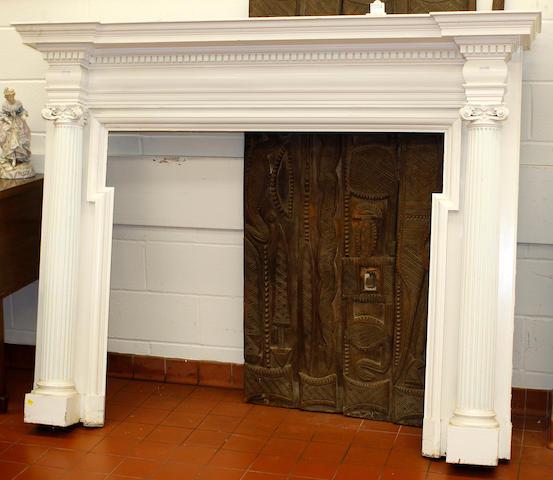 An Adam style Fireplace surround