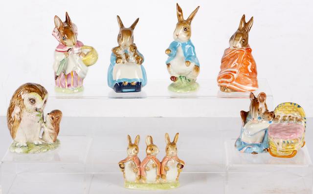 Twenty nine various Beswick Beatrix Potter figures