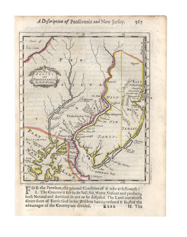 MORDEN (ROBERT) Geography Rectified: or, a Description of the World... Second Edition, Enlarged, 1688